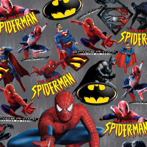 کاغذ کادوی طرح مرد عنکبوتی
